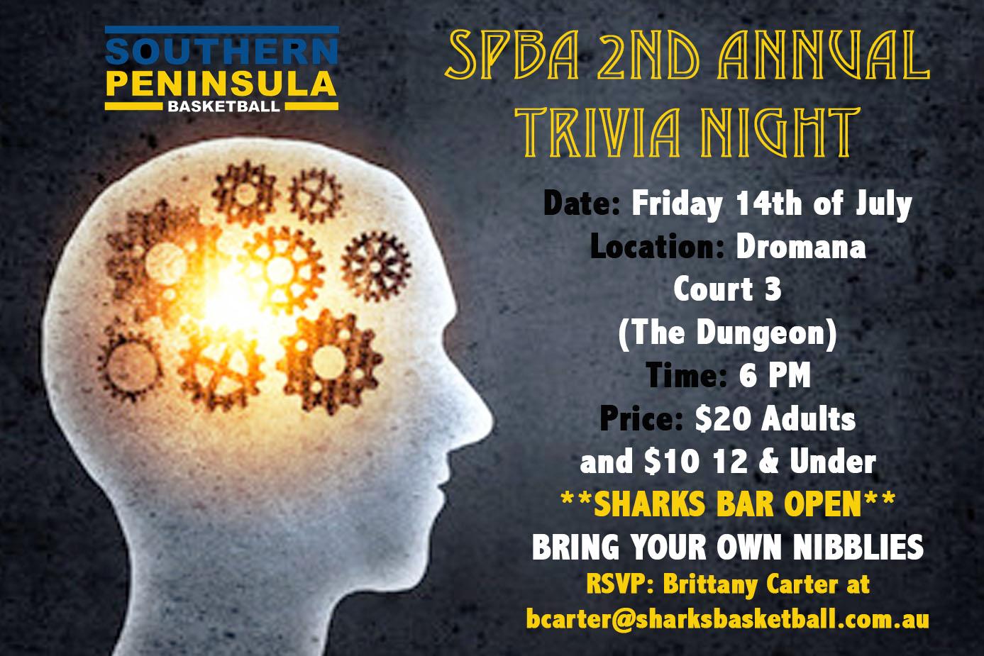 SPBA 2nd Annual Trivia Night