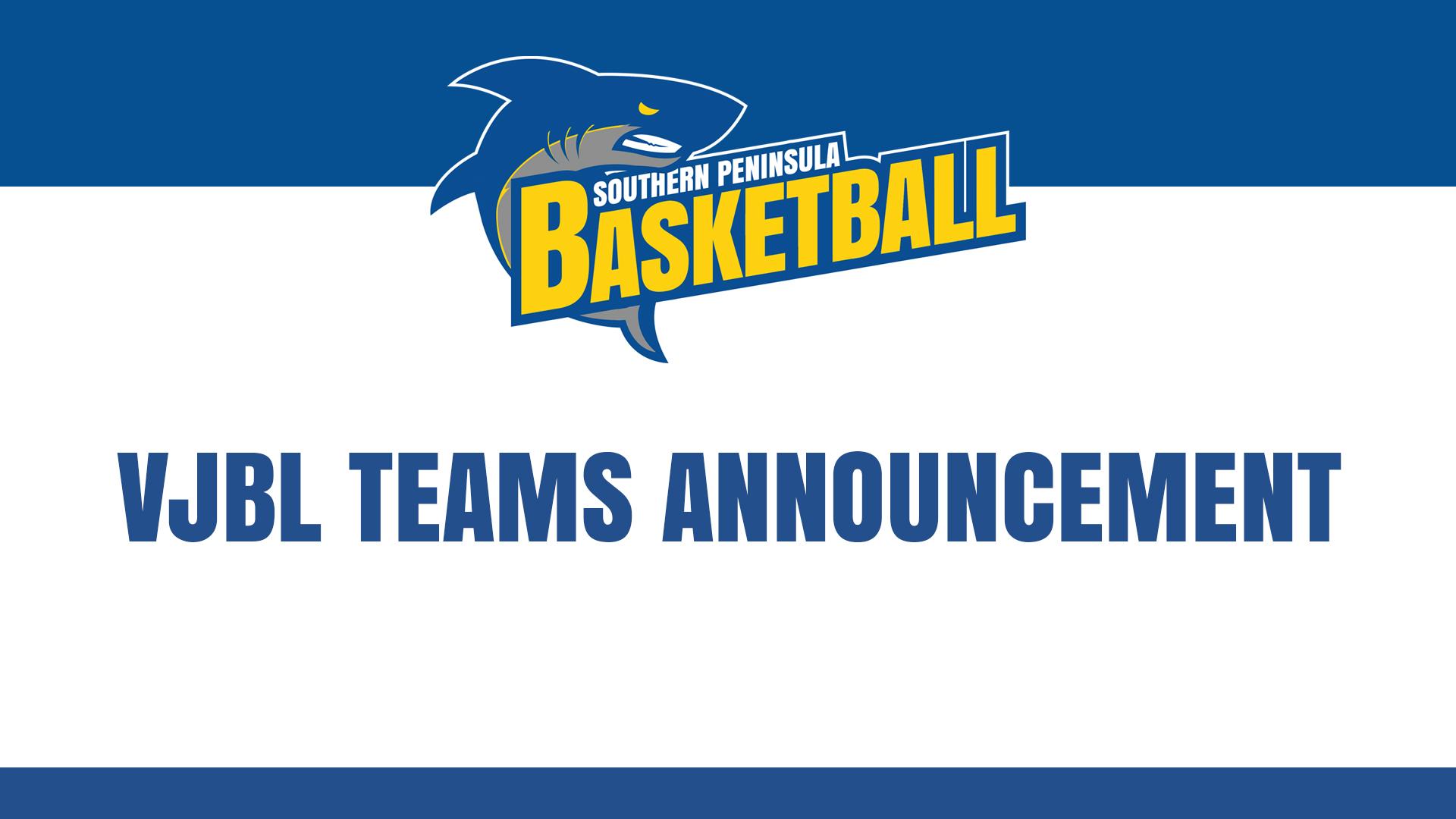 BJBL Teams Announcement