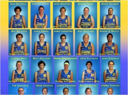 2008 PowerAde Shark's Players