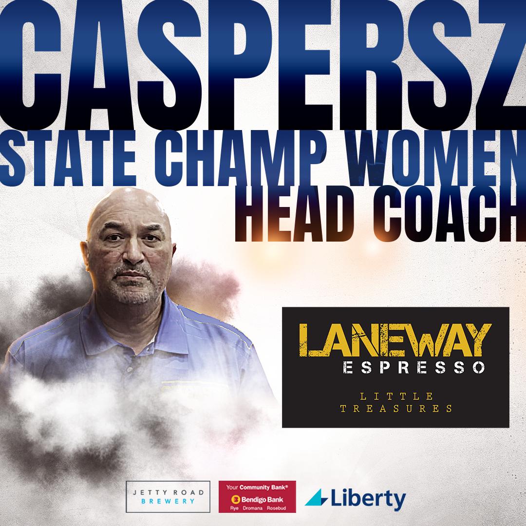 Caspersz State Champ Coach